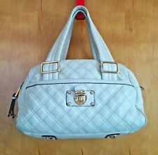 Marc Jacobs Ursula Bowler Bag Shoulder Satchel quilted leather Italy OFF WHITE