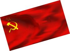 3x5' Feet Ussr Flag Banner Red Cccp Russian Union of Soviet Socialist Republics
