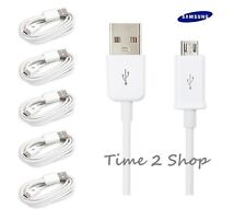 5 Pack Generic USB 2.0A to Micro B Data Sync Charge Cable Lead Samsung HTC Sony