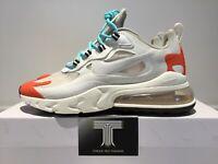 Nike Air Max 270 React ~ AO4971 200 ~ Uk Size 10.5 ~ Euro 45.5
