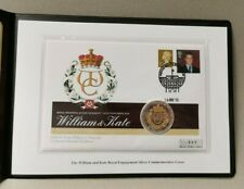 Westminster - Prince William & Catharine The Royal Engagement Silver Coin Cover