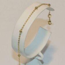 Pulseras de joyería brazaletes de oro amarillo