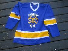 VINTAGE University of ALBERTA GEOLOGY  Hockey Jersey XL