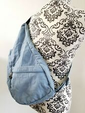 Ameribag Healthy Back Bag Small | Glacier Blue Distressed Nylon ShoulderBag