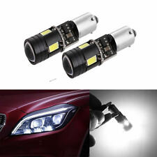 2x DC12V BAY9S H21W 5730 4LED Canbus Error Free 120°Turn signal light Bulb White