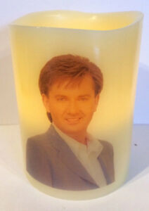 DANIEL O'DONNELL ELECTRONIC FLAMELESS FLICKERING CANDLE