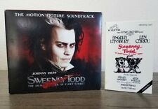 Sweeney Todd Deluxe Edition Soundtrack (2007) & Original Soundtrack from 1979!