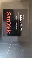 "SanDisk SSD Plus 120GB Internal 2.5"" (SDSSDA-120G-G25) SSD Brand New Box Open"