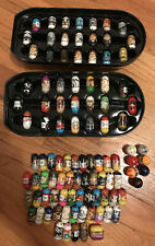 Lot Of 100 Mighty Beanz Star Wars And Marvel w/Darth Vader Tin