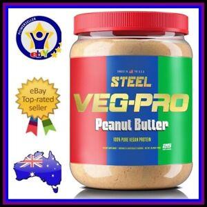 STEEL SUPPLEMENTS VEG-PRO 100% Pure Vegan Protein Powder Muscle Supplement