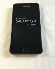 Samsung  Galaxy S2 GT-I9100 -16GB -GSM/HSPA - Black - USED Smartphone *UNLOCKED*