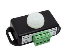 12VDC 6 AMP IR Infrared PIR Motion Sensor Control Switch for LED Lights