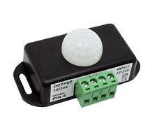 12VDC 6 AMP IR Infrared PIR Motion Sensor Control Switch for LED Lights