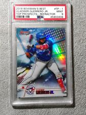 2018 Bowman's Best Vladimir Guerrero Jr. Top Prospects Refractor RC #TP-1 PSA 9
