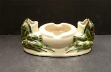 Brush McCoy Frog Double Ashtray -  MINT