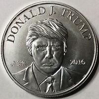 Donald  Trump  Make America Great Again 999 Silver coin 1 Troy OZ in capsule