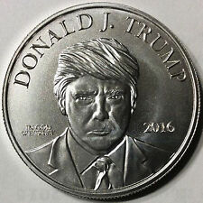 /Donald  Trump  Make America Great Again 999 Silver coin 1 Troy OZ in capsule