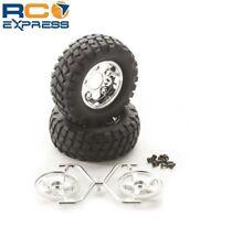 Tamiya Rock Block Tires w/2pc 5-Spoke Wheels CC01 TAM54554
