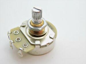 Alpha A500K Full Quarter Size Guitar Bass Brass Shaft Control Pot Potentiometer