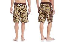 Duck Dynasty Olive Green Board Men's Shorts Swim Trunk Size 36