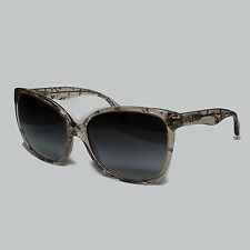 Dolce&Gabbana D3090 25788G Grey Glitter 3090 Cats Eyes Women Sunglasses Lens