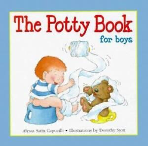 The Potty Book: For Boys - Hardcover By Alyssa Satin Capucilli - VERY GOOD