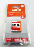 JUPIO NB-4L X CANON Lithium Ion Battery Pack