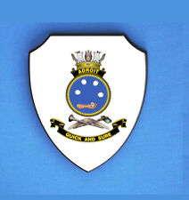 HMAS ADROIT ROYAL AUSTRALIAN NAVY WALL SHIELD (IMAGE BLURED TO STOP WEB THEFT)