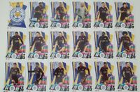 2020/21 Match Attax UEFA Europa League - Leicester team set (18 cards)
