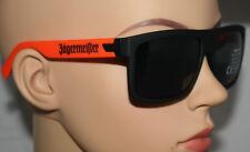 Jägermeister Kräuterlikör Sonnenbrille NEU OVP getönt schwarz Orange Sommer