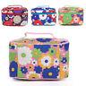 Floral Travel Toiletry Bag Zipper Cosmetic Makeup Pouch Case Organizer Efficient