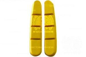 Shimano Dura-Ace Ultegra Yellow Road Brake Pads Inserts Compatible 105 BR-7800