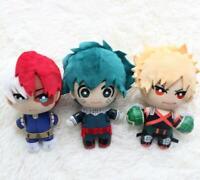 Anime My Hero Academia Izuku Todoroki Shouto Stuffed Soft Plush Toy Doll 15cm
