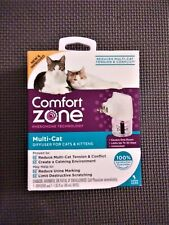 Comfort Zone Calming Multi-Cat Diffuser for Cats & Kittens - Upc: 039079003384
