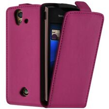 Housse Coque Etui pour Sony Ericsson Xperia Ray ST18i Couleur Rose