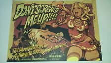 Don't Screwed Me Up RARE LIMITED Poster Print Rockin Jelly Bean Erostica RJB