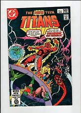 DC THE NEW TEEN TITANS #6 Perez Cover and Art 1981 VF/NM Vintage Comic