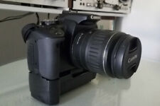 Canon EOS Digital Rebel XTi / EOS 400D 10.1MP + Canon 28-90mm lens.