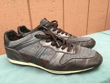 Hugo Boss Orange Men's Lo Pro Fashion Sneakers Shoes Grey/Brown EU 43 US 9