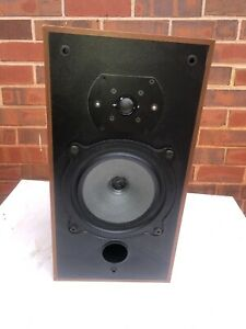 Vintage B&W Bowers & Wilkins Single DM10 Speaker No Grill Tested Works Well