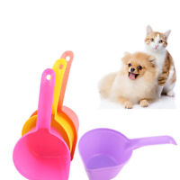 5 Pieces Cute Pet Dog and Cat Food Shovel Measuring Cup Scoop