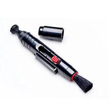 Black Lens Pen Digital Camera Filter Cleaning Soft Brush Dust Wiper Cleaner Kit