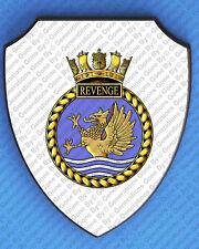 HMS REVENGE 1919 WALL SHIELD