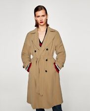 Zara Tan / Camel Oversized Trench Coat Size M UK 12 BNWT