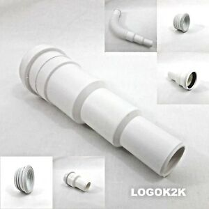 Push Fit REDUCER For Waste Water Soil Pipe 50 mm Reducing to 40 32 mm Coupler