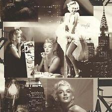 Galerie Marilyn Monroe Black and White Luxury Designer  Wallpaper - 12101209