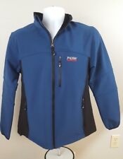 PEAK PERFORMANCE R&D Womens Large Gore Windspotter Sweeden Jacket Coat Blue (C)