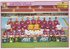 N°031 - 032 ASTON VILLA TEAM Premier League 1996-1997 MERLIN STICKER VIGNETTE