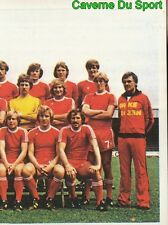 158 TEAM FC.TWENTE NETHERLANDS STICKER FOOTBALL 1980 BENJAMIN RARE NEW