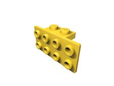 5 x [neu] LEGO Winkel 1 x 2 - 2 x 4 - gelb - 93274